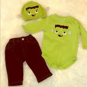 Baby boy Halloween outfit